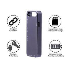 Mini Gravador de voz de áudio - Digital Pequeno 20hr Continuous 981
