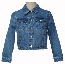 가을 아이들 형식 데님 진은 아이 잘생긴 재킷을 입힌다