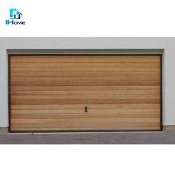 По окончании деревянные двери гаража для защиты пальцев