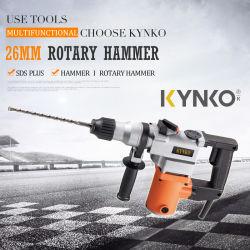 La puissance des outils professionnels Kynko Marteau Rotatif 26mm DK08