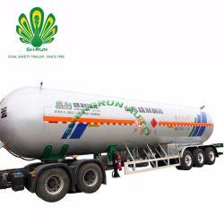 La Chine à faible prix de transport semi-remorque-citerne GPL/remorque de camion