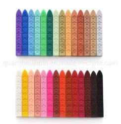 OEM 34 Farben Dekorativer, Korloser Wachsenstift mit Umschlagversiegelung