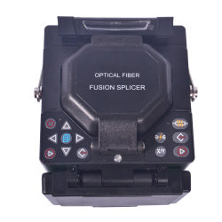 Kl280 Digital optisches Kabel-verbindene Maschinen-Faser-Optikschmelzverfahrens-Filmklebepresse