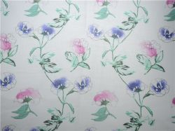 Teñido de hilados de algodón Quilting ramio terciopelo cortina tejida (CAD-4154)