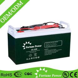 Isento de manutenção Bateria 12V 120Ah ácido de chumbo AGM VRLA BATERIA