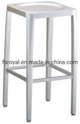 Resistente al UV Metal moderno jardín al aire libre muebles silla taburete de bar restaurante