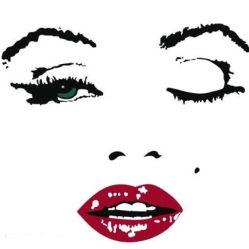 Maschera delle pitture di Marilyn Monroe che incornicia la pittura del diamante di DIY