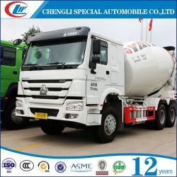 Sinotruk HOWO 6X4 10m3 de maquinaria de construcción del tanque de mezcla de cemento de carga automático Mezclador de concreto camión