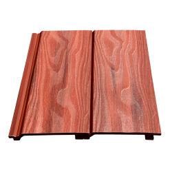 Le bois composite de parement mural en plastique