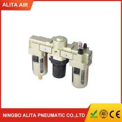 Source d'air AC de la série de machine de traitement du filtre à air AC3000 F. R. L Combinaison AC4000/régulateur de filtre à air comprimé/lubrificateur