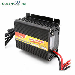 10А 12В постоянного тока 110VAC солнечного зарядного устройства батареи