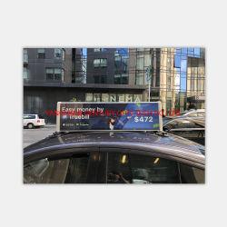 Gros en Chine prix d'usine Slim Energy Saving voiture Taxi de la publicité