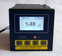 Industrielles Onlinewasser pH/Orp/Do /RO/ Analysegerät IP-57 EC-TDS für Wasserbehandlung (pH-6800)