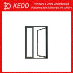 أبواب مزدوجة الزجاج تفتح أرجوحة الباب الألومنيوم