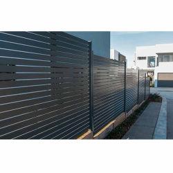 Commerce de gros de clôtures de lamelles en aluminium à revêtement poudré