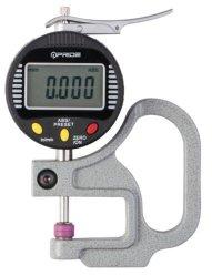Herramienta de medición de espesor de la cerámica Medidor digital de punta del husillo y el yunque