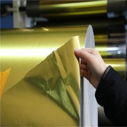 Documento metallizzato vuoto dorato di /Silver