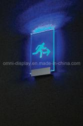 Strangpresßling-an der Wand befestigtes Zeichen-Seiten-Aluminium LED-4-Way/Edelstahl/Messingschelle
