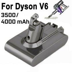Abwechslungs-Batterie-Handstaubsauger-Zubehör für Dyson absolutes V6 DC58 DC58 59 61 62 4000mAh