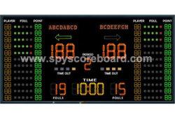 4X2m стадиона баскетбол электронные Scoreboard, задиров таймер, электроника результат отображения