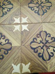 Haut -Fin Handscraped solide de feuillus Engineered Wood Flooring