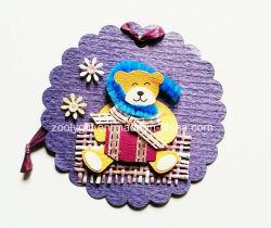 Afdrukken Hanging Decorative Tag / Handmade Printed Animal DIY Paper Ambacht