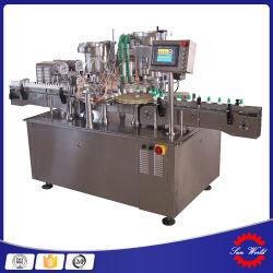 Pequeñas dosis de líquido oral secado lavado llenando el fabricante de máquinas de sellado
