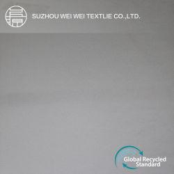 100d 50%Reciclar Tramo lateral cuatro trajes de tejido del Vestido Dama/camisa/