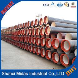 Centrifugaal ISO2531 450mm Fabrikant van China van de Pijp van het Gietijzer van de Klasse K9 de Cement Gevoerde Kneedbare
