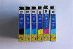 Cartouche d'encre couleur compatible T0821-T0856 pour Epson 1390