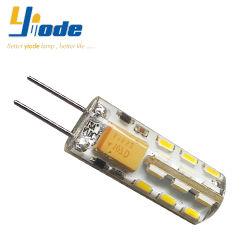 مصباح LED G4 ثنائي المسامير بجهد 12 فولت وبقوة 3014 وبقوة CE RoHS