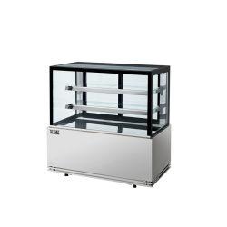 1.5M Bakery Showcase frigorífico durante todo o bolo do refrigerador de exibição frigorífico na padaria