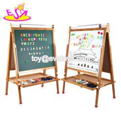 Pädagogische Spielwaren-hölzernen magnetischen Schreibens-Vorstand für Kinder W12b114 anpassen