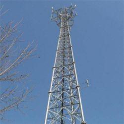 A estrutura tubular da configuração avançada Auto Suporte a comunicação GSM Telecom Tower