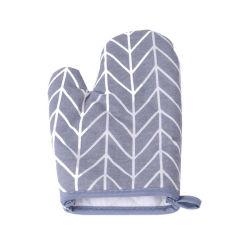 Форма для выпечки перчатки термостойкий хлопковой тканью креста печь Mitt утолщения микроволновой печью короткого замыкания перчатки для кухонных принадлежностей инструменты Esg12010