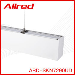 LED 선형 가벼운 생산 라인 천장 실내 벽 지구 알루미늄 점화 룸은 바 실내 빛을 중단한다