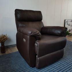 Лишь одно место функциональных диван электрический механизм PU прочного кресла старых моды оригинала