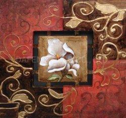 Peinture d'huile de fleurs décoratives (177-3)