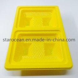 Пластиковой упаковки подарок PS продовольственной случае лоток для Луны торт