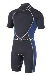 Neopren-KurzschlussWetsuit der Männer/Badebekleidung/Sport-Abnützung