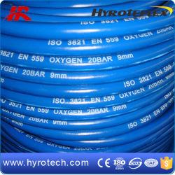 Tubo flessibile blu dell'ossigeno