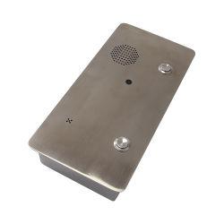 ステンレス鋼のフラッシュ土台のインターネットのVoIPのビデオ通話装置のドアの電話