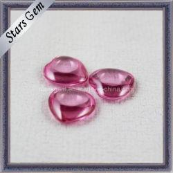 Forma de corazón colgante de vidrio para bisuteria