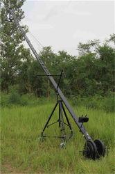 12m die Mittellinie 3 motorisierte Controllerberufsjimmy-Kamera-Kran-Kranbalken des Wannen-Neigung-Kopf-DV für Schmierfilmbildung