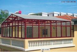 Maison de jardin avec le verre trempé Profil en aluminium/jardin d'hiver de serre