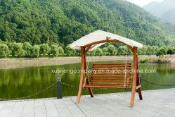 Muebles de jardín tipo carpa modernos de madera silla columpio