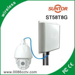 5.8GHz 5-8km longo alcance Transmissor Receptor Digital Sem Fios