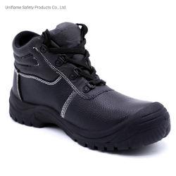 Semelle PU devoir Heavty S3 en cuir véritable de l'industrie industriel Steel Toe bottes de travail de la sécurité pour les hommes