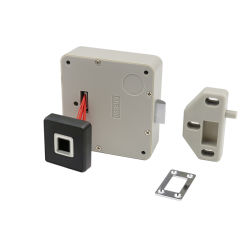 Kleine Biometrische Slot van de Lade van het Bureau van de Kast van het Comité van de Lezer van de Vingerafdruk KERONG het Elektronische Slimme Bluetooth voor de Veilige Doos van het Kanon