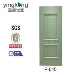 Diseños personalizados cocina delante de la puerta de chapa de madera pieles P645